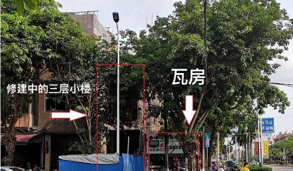"""找领导   三问屯昌""""断头路"""":为何30余米长的人行道能被瓦房占据26年?"""