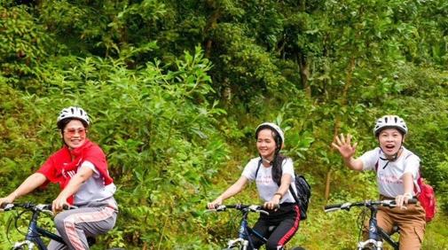 2019欢乐节屯昌加乐潭环湖骑行活动举行 骑行+武术展演